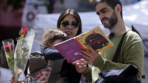En Sant Jordi lo que importa es el tamaño: de libros y rosas con Patxi López, Garzón y más