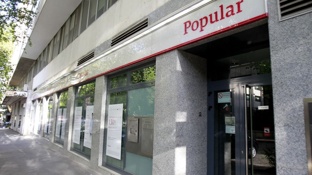 Foto: Oficina del Banco Popular en Madrid. (EFE)
