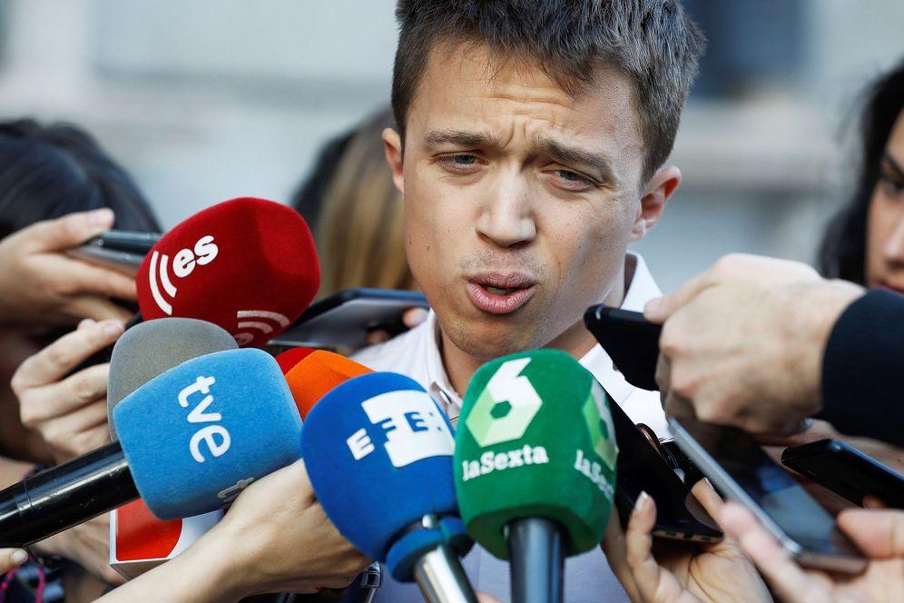 Foto: El secretario de Análisis Estratégico de Podemos, Íñigo Errejón. (EFE)