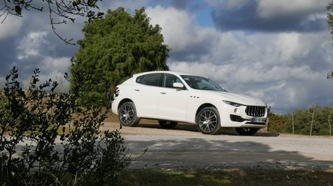 Maserati Levante con suspensión neumática