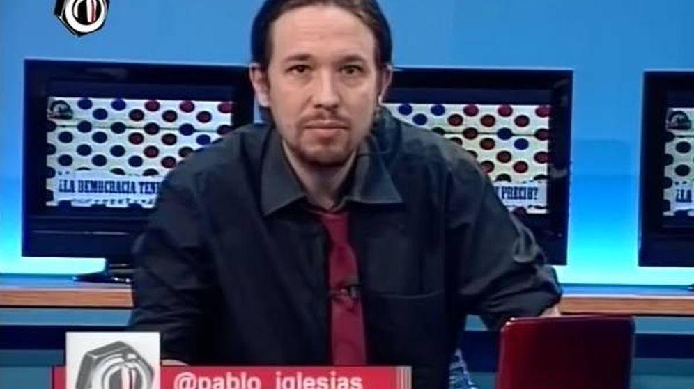 Foto: Pablo Iglesias en 'La tuerka'.