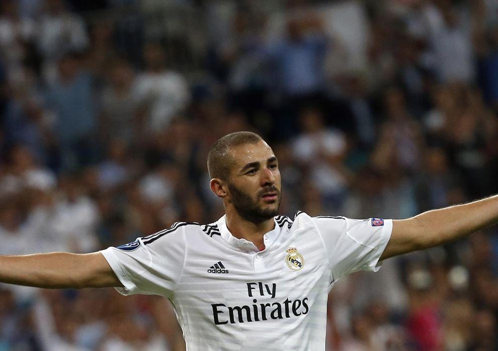 Foto: Las aportaciones de Benzema van mucho más allá de marcar goles (Reuters).