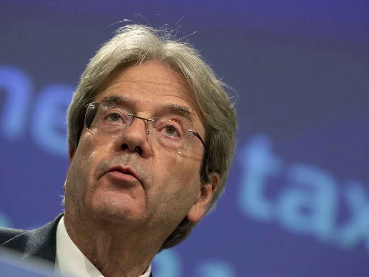 Foto: Paolo Gentiloni, comisario de Economía. (Reuters)