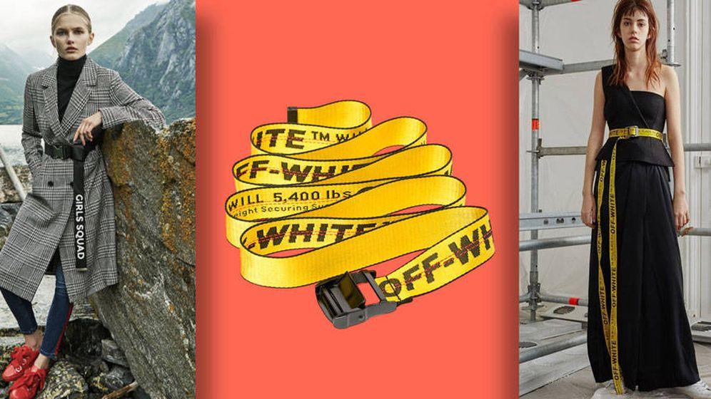 Foto: Este cinturón de Off-White es uno de los objetos de deseo de las fashionistas. (Vanitatis)