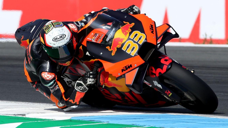 La lluvia y el valor de Brad Binder ponen la chispa en MotoGP