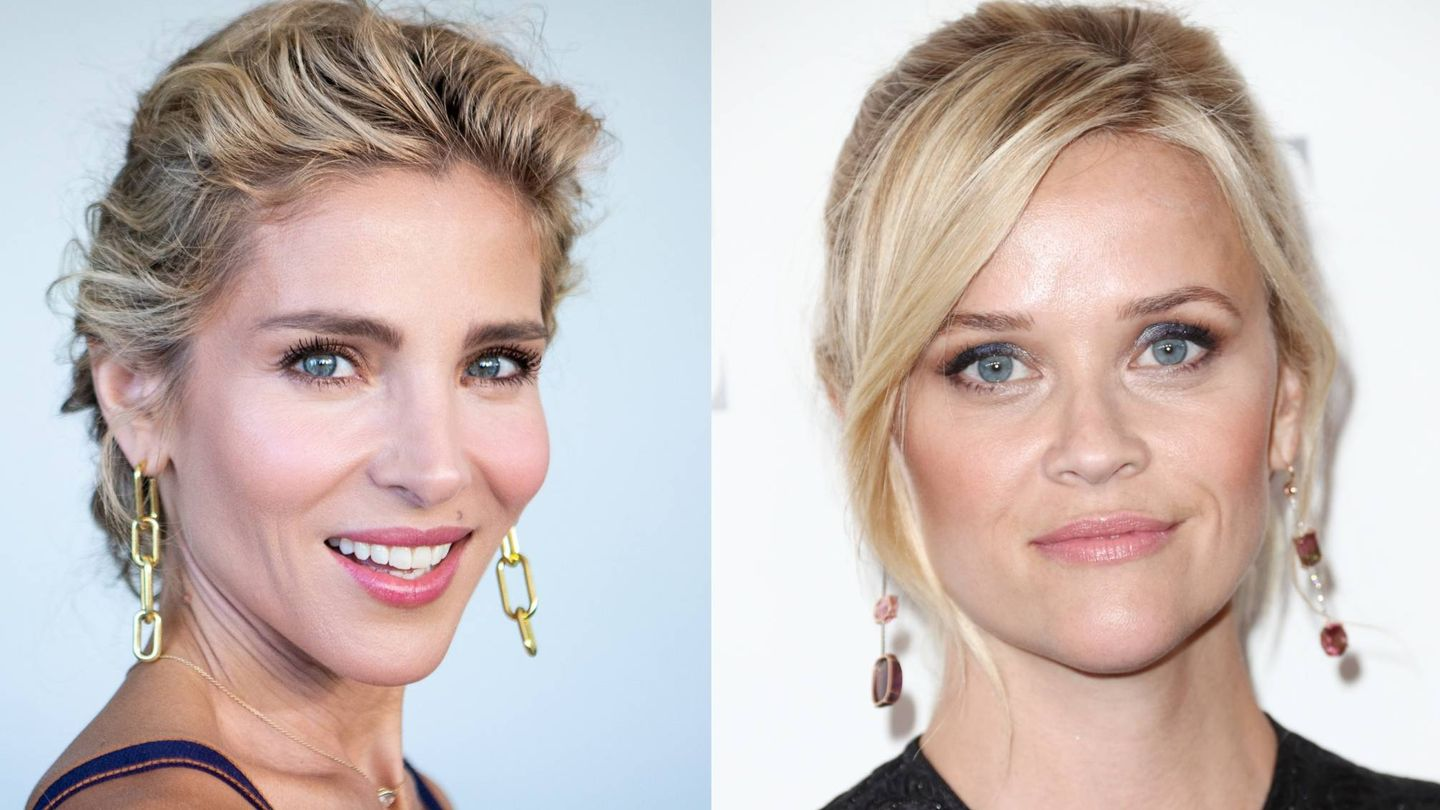Elsa Pataky y Reese Witherspoon. (Getty)