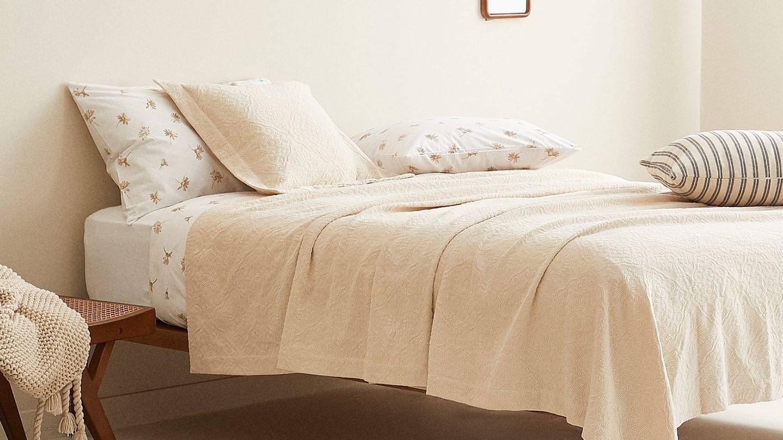 Zara Home viste tu dormitorio con estas colchas. (Cortesía)