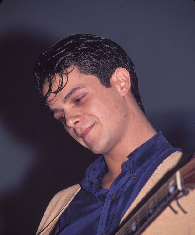 Foto: Alejandro Sanz en una imagen de los 90. (Gtres)