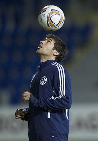 Foto: Raúl tiene una oferta del millonario mexicano Vergara para jugar en los Chivas de Los Ángeles
