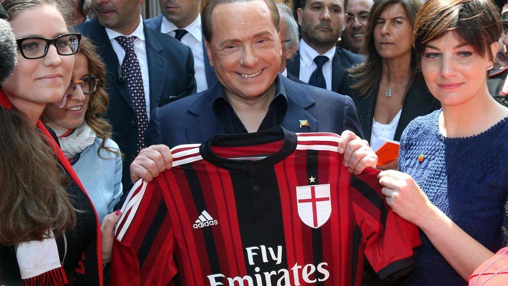 Foto: El ex primer ministro italiano y propietario del AC Milan, Silvio Berlusconi. (EFE)