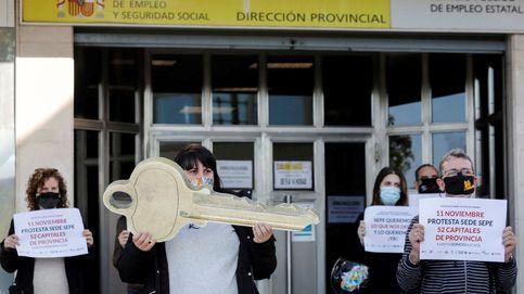 Los rebrotes cortan la mejora del empleo: 85.000 trabajadores más en ERTE en octubre