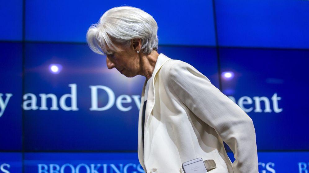 Foto: Christine Lagarde, presidenta del FMI (EFE)