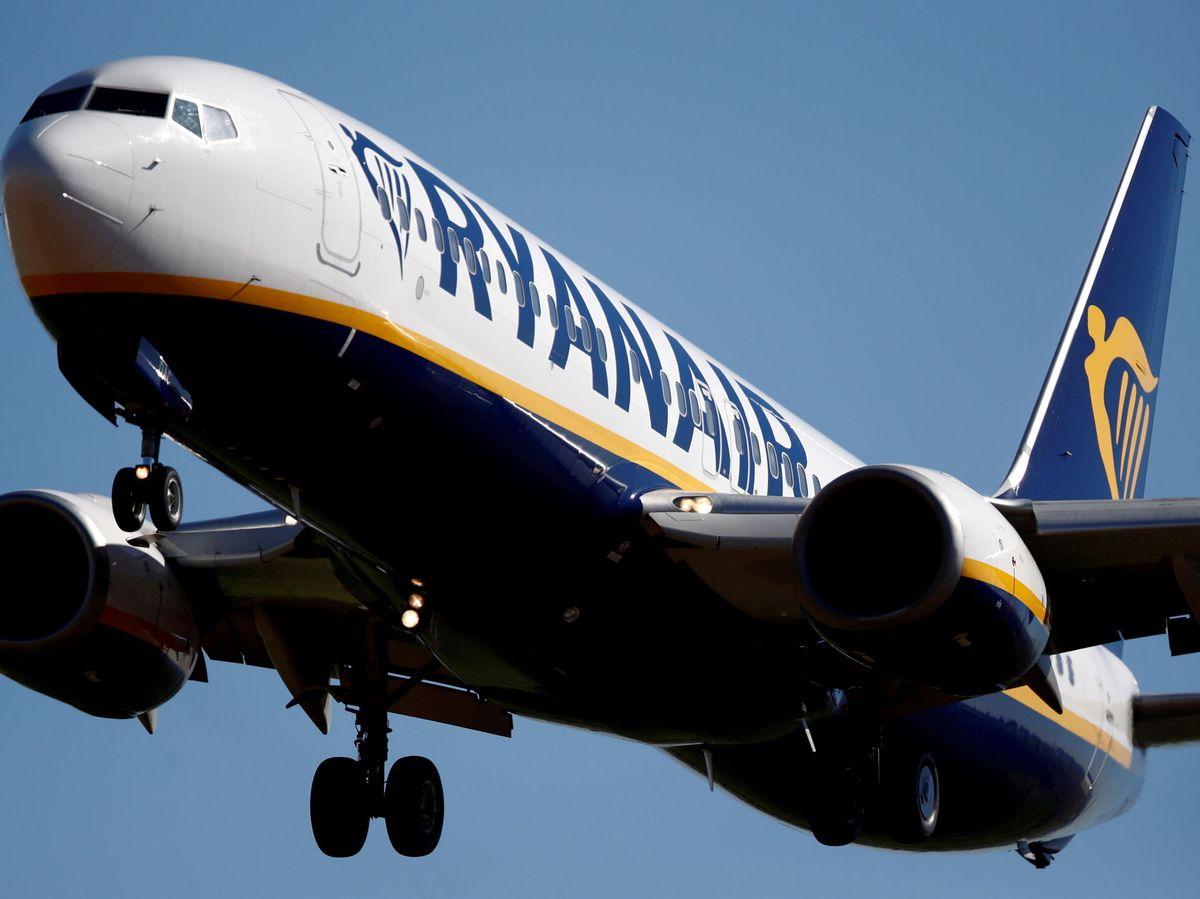 Foto: Boeing 737 de Ryanair (EFE)