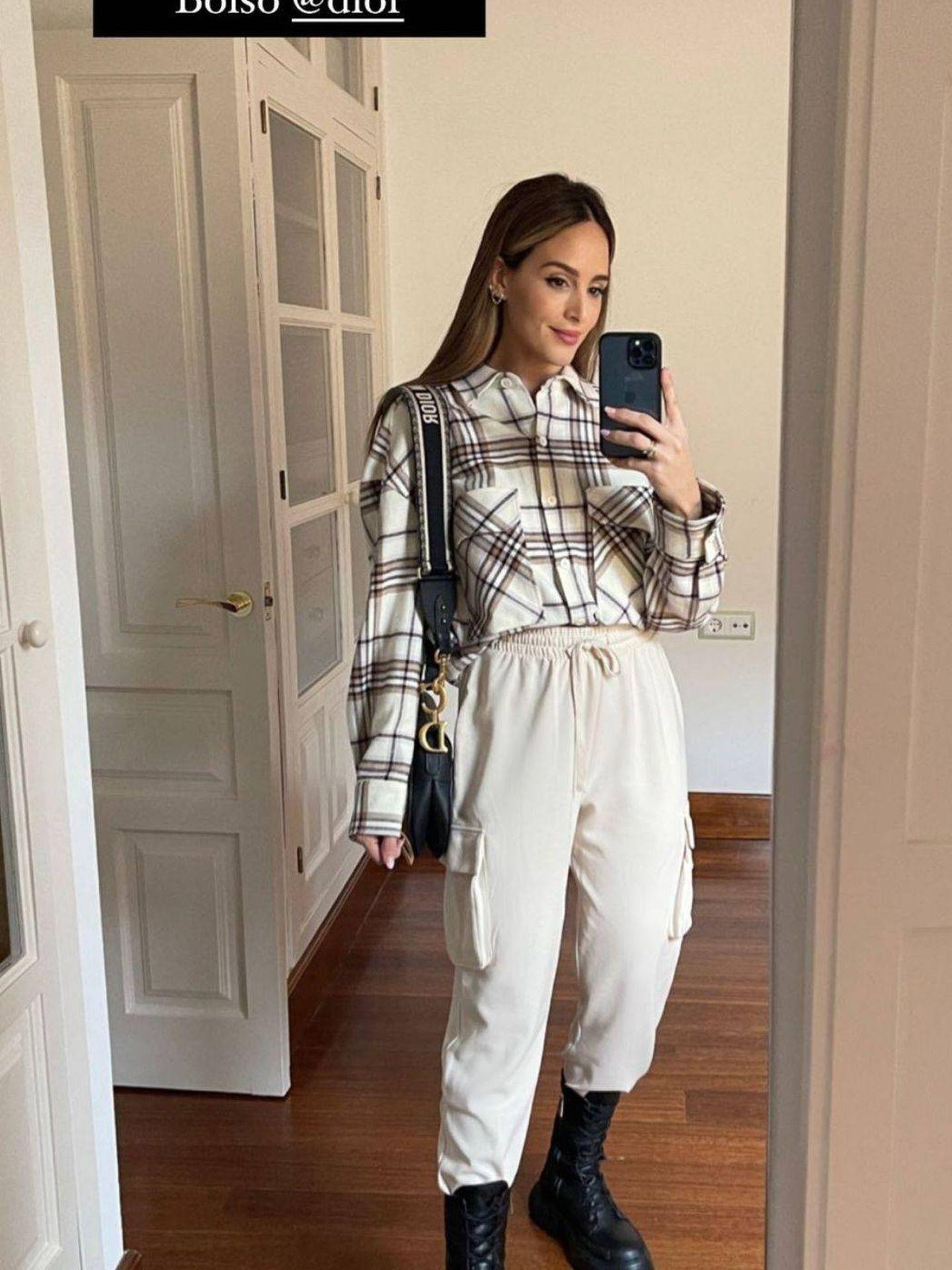 Rocío Osorno nos descubre las botas chunky más estilosas de las rebajas de Zara. (Instagram @rocioOsorno)