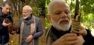 Post de El primer ministro de India, a prueba en el programa 'El último superviviente'