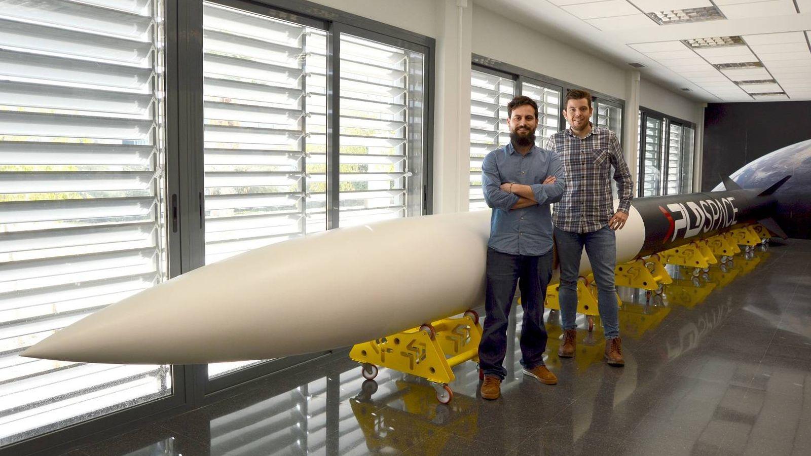 Foto: Los fundadores de PLD Space, Raúl Verdú (izquierda) y Raúl Torres (derecha).