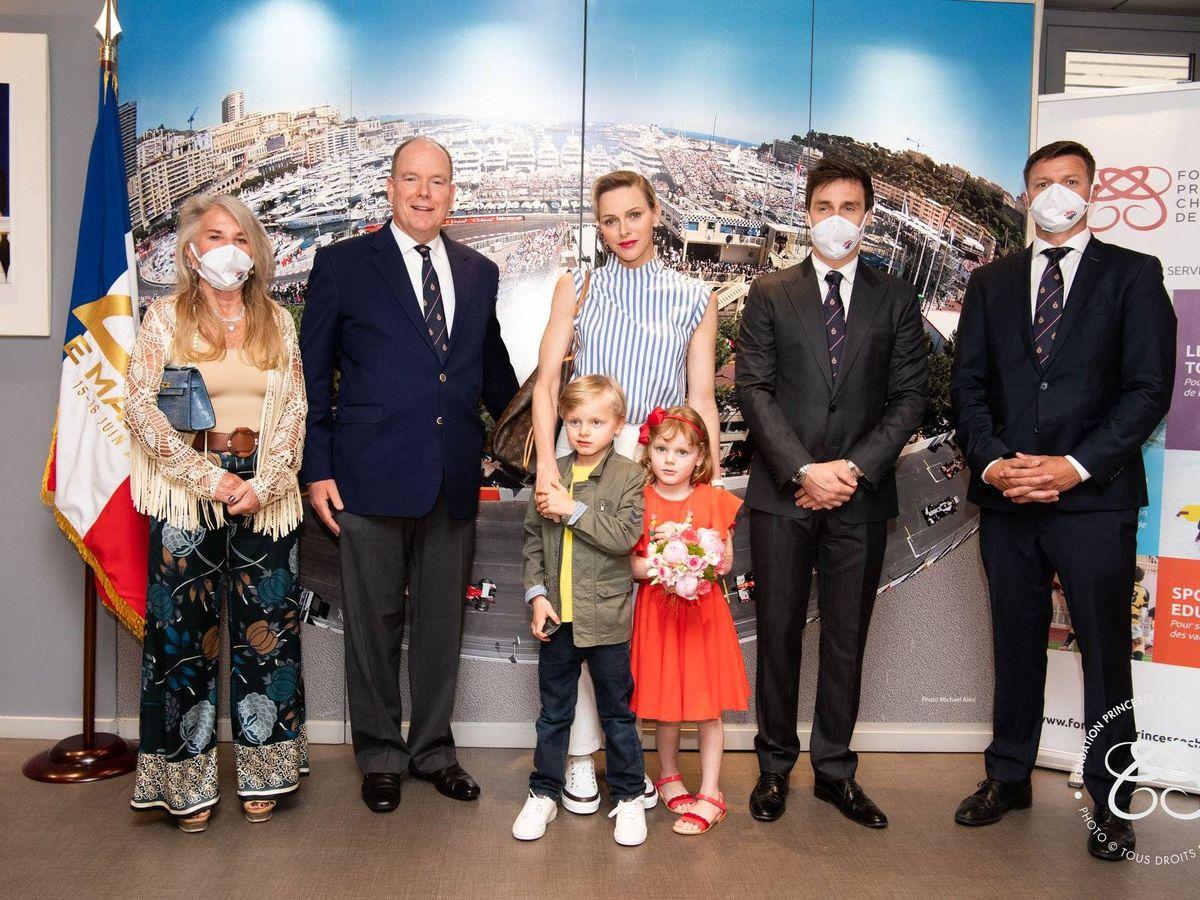 Foto: Jacques y Gabriella de Mónaco. (Fundación Princesa Charlène)