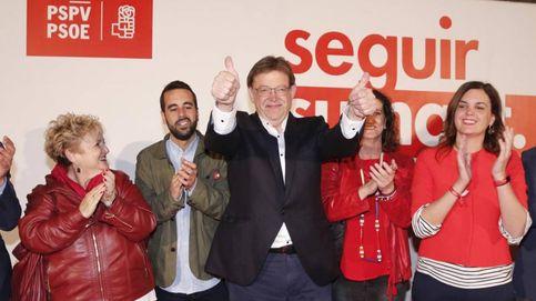 Ximo Puig logra la primera victoria desde 1991 y liderará otro pacto de izquierdas