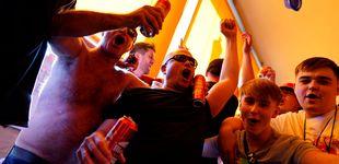 Post de Cánticos, cerveza y respeto: el ambiente de los hinchas ingleses en los pubs de Madrid