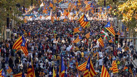 Directo | Puigdemont, Junqueras y Forcadell acuden a la manifestación por 'los Jordis'