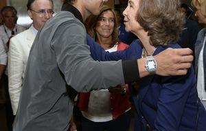 La Reina felicita a Rafa Nadal por su victoria en el US Open