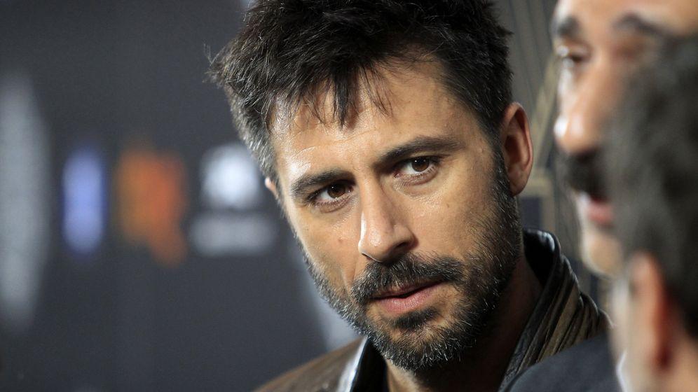 Foto: El actor Hugo Silva, en la segunda temporada de 'El ministerio del tiempo'. (EFE)