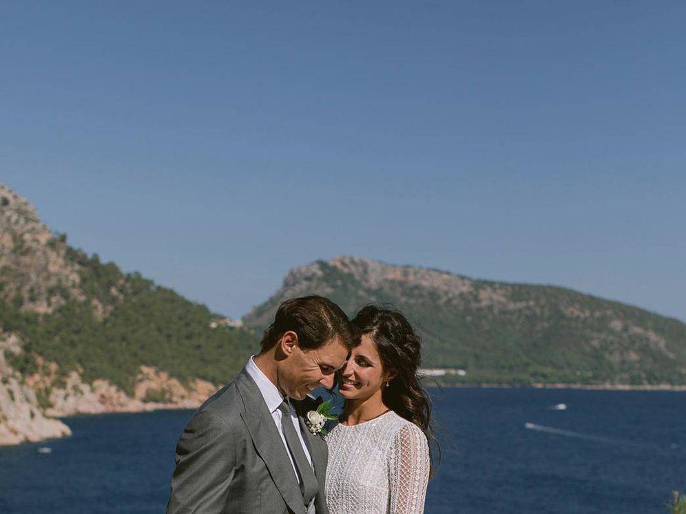 Foto: Rafa Nadal y Xisca Perelló, recién casados. (Fundación Rafa Nadal)
