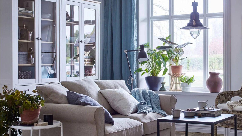 Ideas para un salón pequeño de Ikea. (Cortesía)