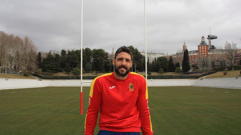Foto: Jaime Nava, capitán de la selección española de rugby. (EFE)