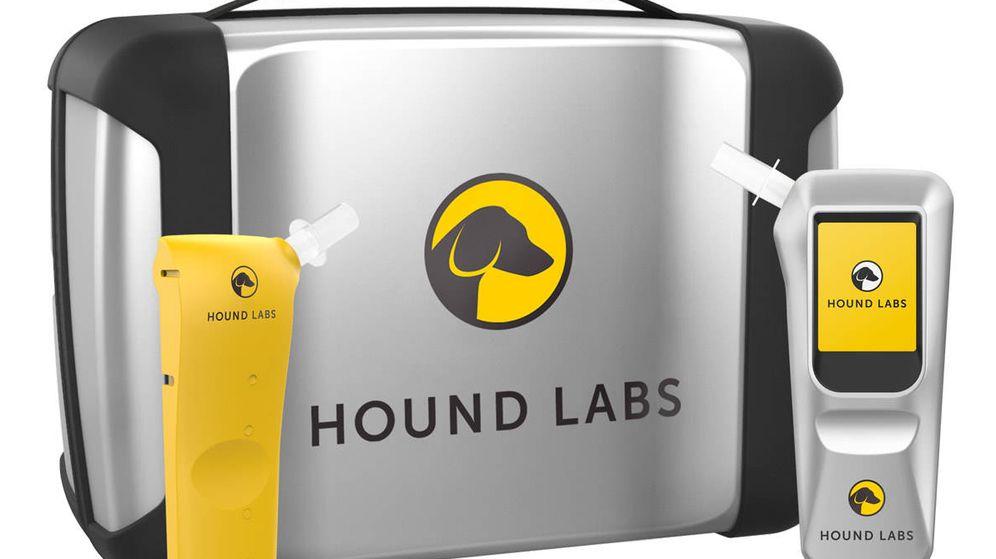 Foto: El invento para analizar el THC (Hound Labs)