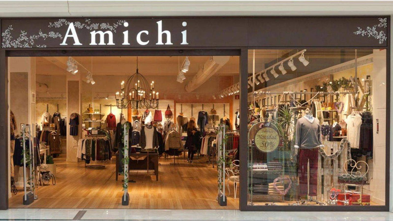 Foto: Fachada de una tienda de Amichi en Barcelona. (EFE)
