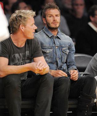 Foto: David Beckham apuesta por los fogones
