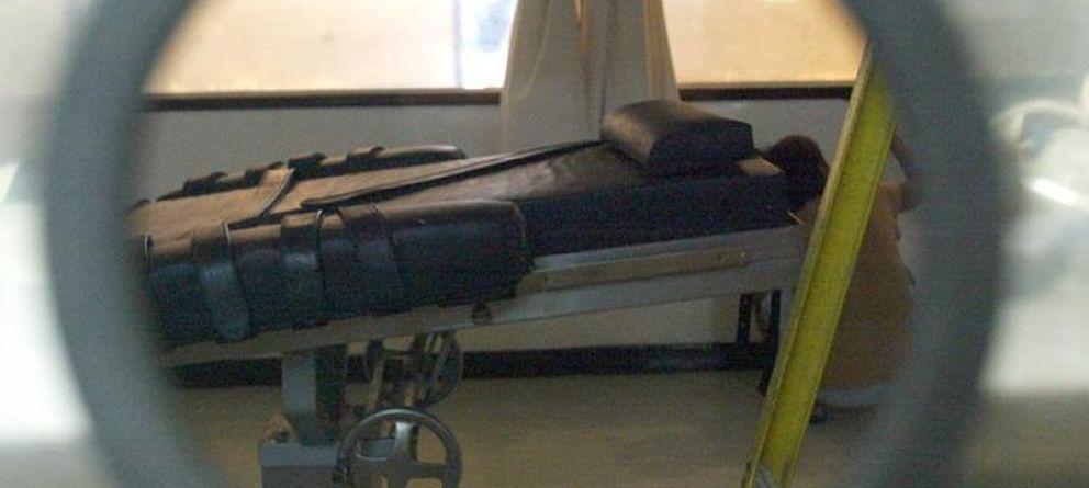 Foto: Camilla utilizada para ejecuciones en un penal de EEUU. (EFE)
