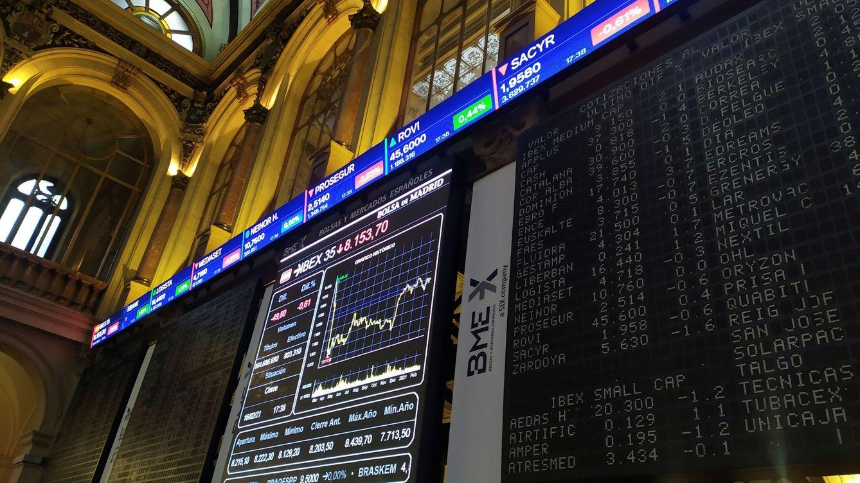 El Ibex 35 inicia la semana con caidas y pierde los 8.100 enteros