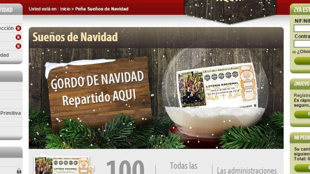 ¿Cuánto gasta cada español en lotería comprada a través de internet?