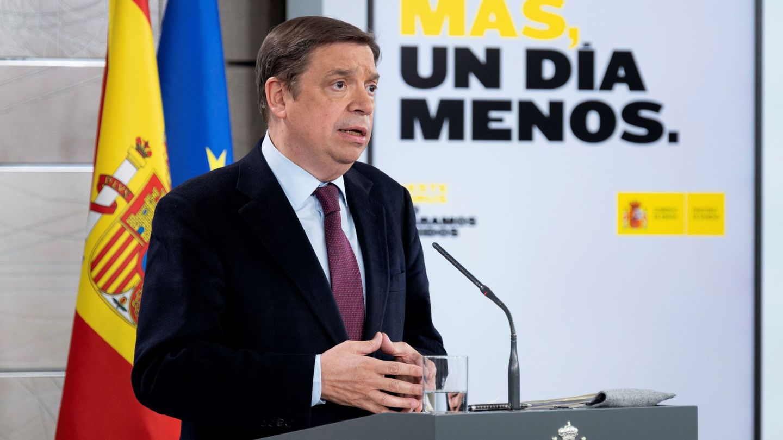 El ministro de Agricultura, Pesca y Alimentación, Luis Planas. (EFE)