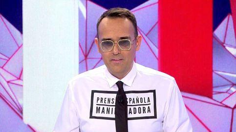 Risto Mejide regresa a 'Todo es mentira' con un incendiario mensaje en su camisa
