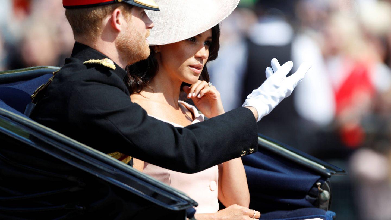 Harry, saludando a los que acudieron a presenciar este desfile. (Gtres)