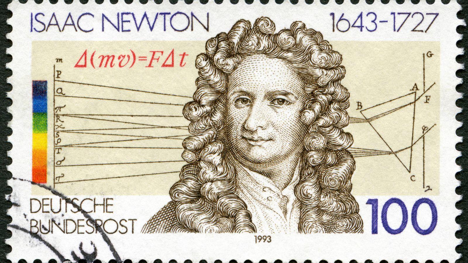 Foto: Isaac Newton. (iStock)