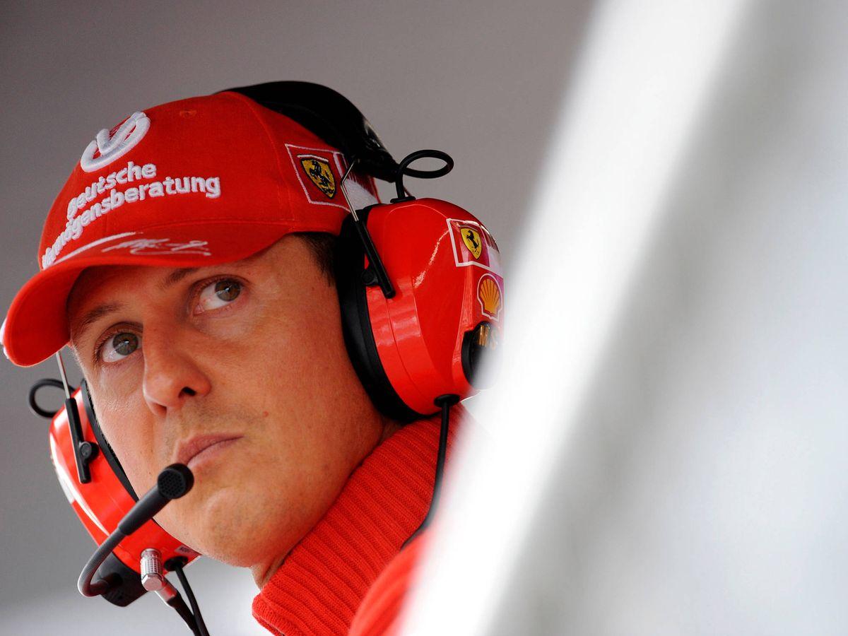 Foto: Michael Schumacher, durante su etapa con Ferrari. (Reuters)