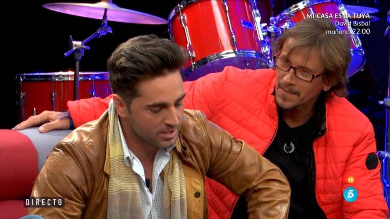La pulla de David Bustamante a Alejandro Abad al reencontrarse en 'GH VIP'