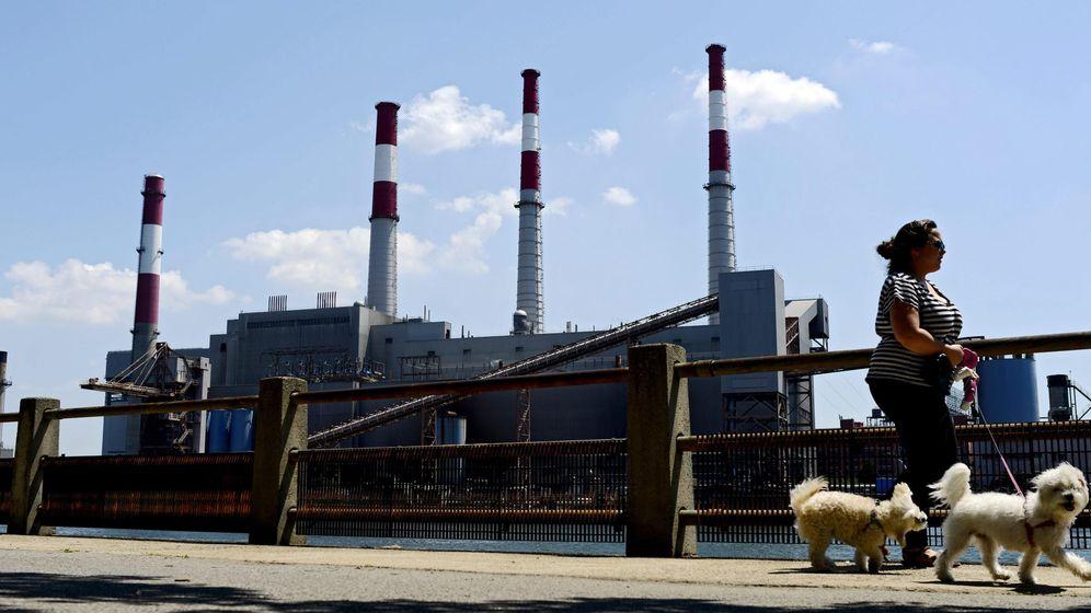 Foto: Vista exterior de una estación de energía. (EFE)