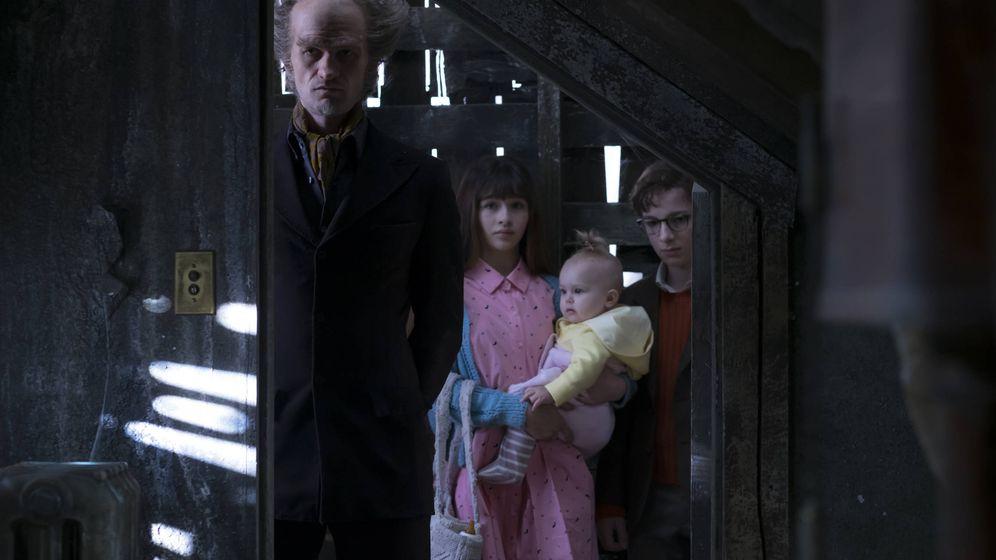 Foto: Imagen de 'Una serie de eventos desafortunados'. (Netflix)