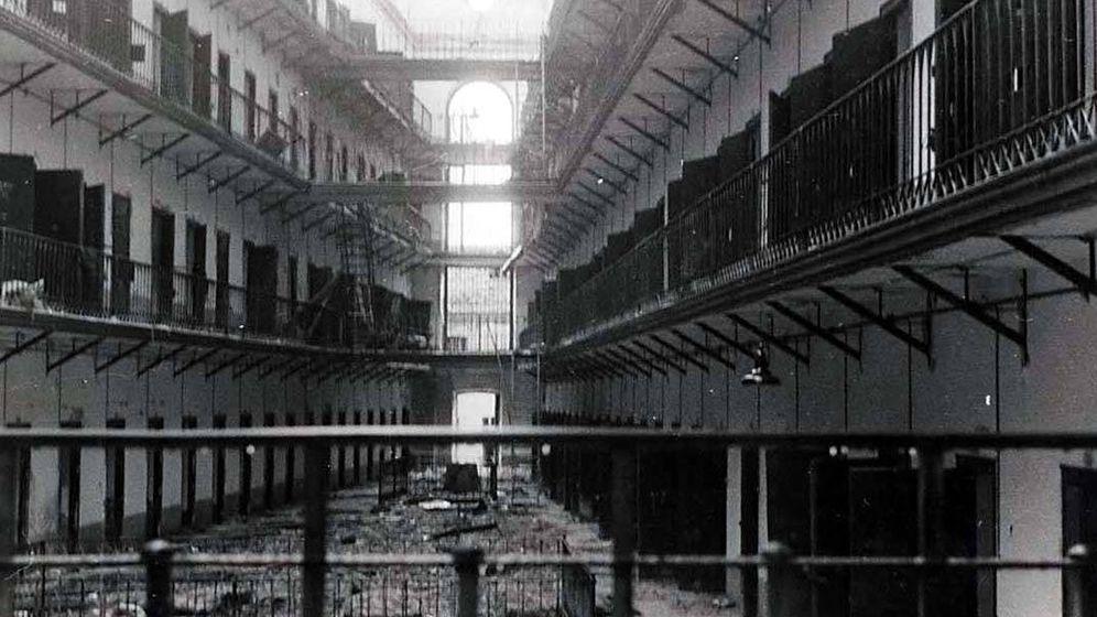 Foto: Interior de la Cárcel Modelo de Madrid.