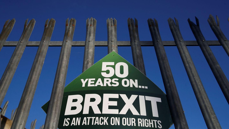 Cartel pro Sinn Fein. (Reuters)