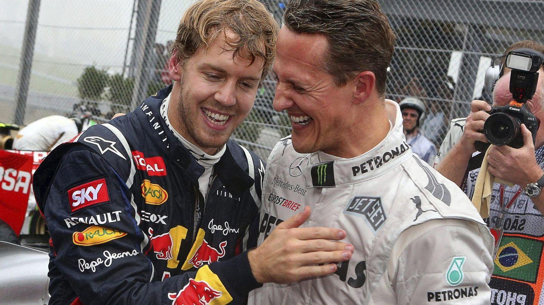 Michael Schumacher fue el ídolo de juventud de Sebastian Vettel , igual que él lo fue para Mick