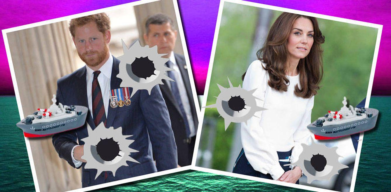 Foto:  Harry y la duquesa de Cambridge en un montaje realizado por Vanitatis