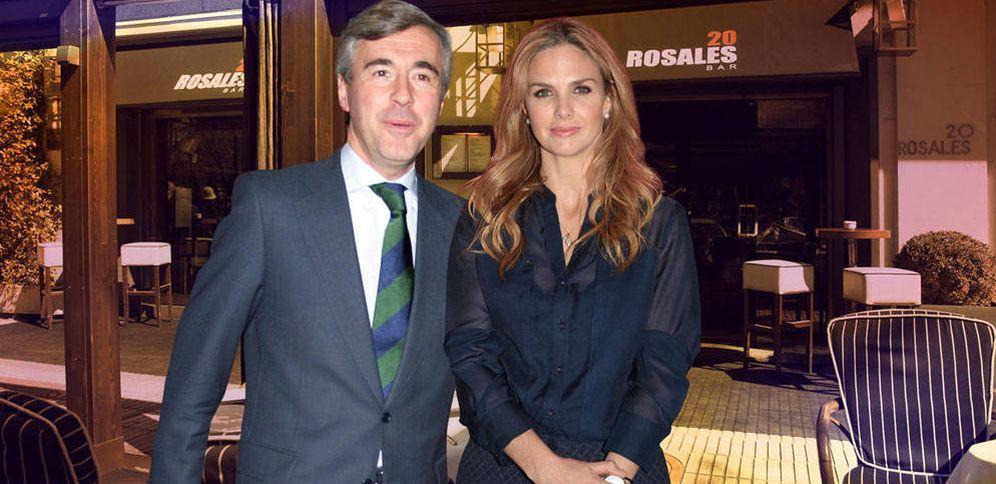 Foto: Genoveva Casanova y Ángel Acebes en un montaje realizado por Vanitatis.