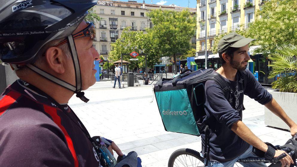 Los 'riders' de Deliveroo: Nuestras condiciones son de Centroamérica