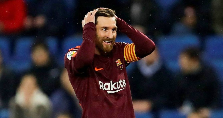 Foto: Messi desaprovechó un penalti. (EFE)
